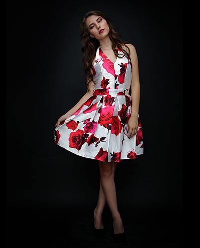 Vestido Flores De Pasión 7506
